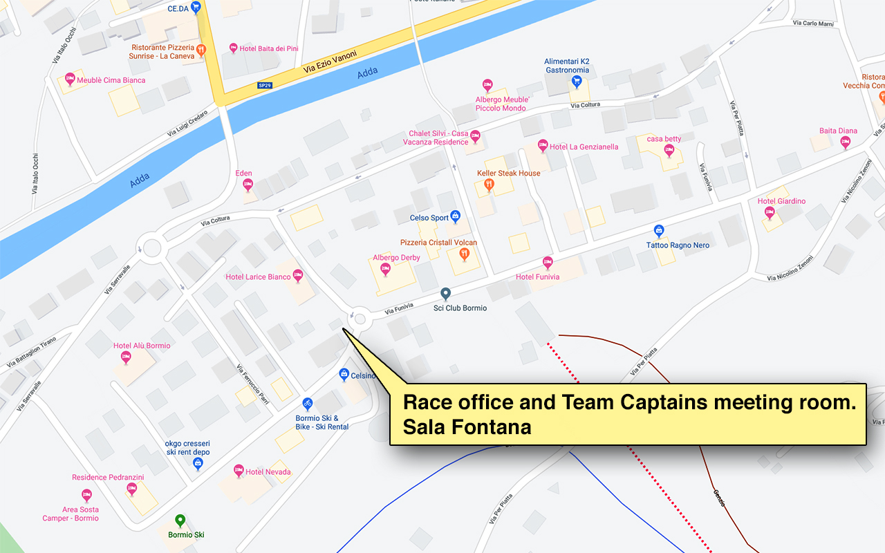 Bormio Map